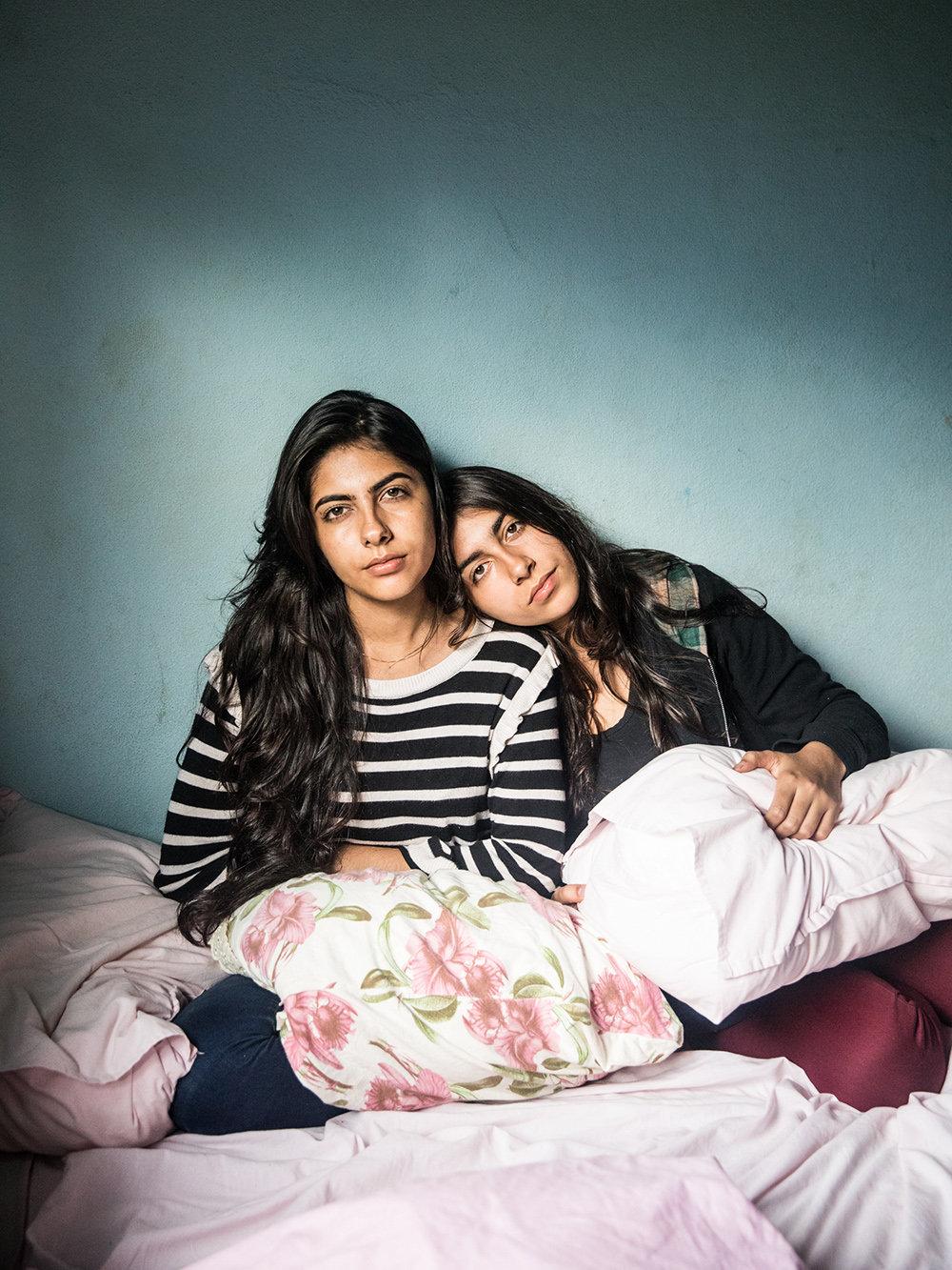Luana und Larisa