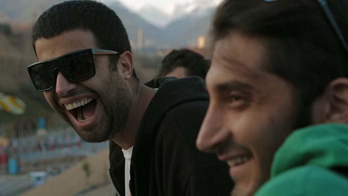 Die beiden iranischen DJs Anoosh und Arash alias Beard & Blade