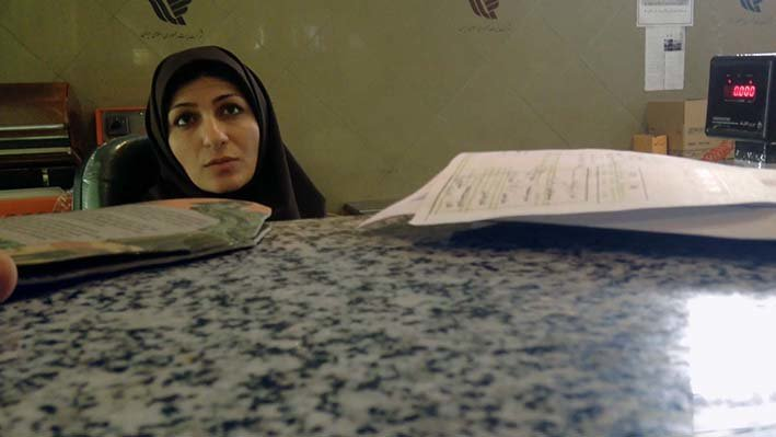 Szene aus dem Film Raving Iran