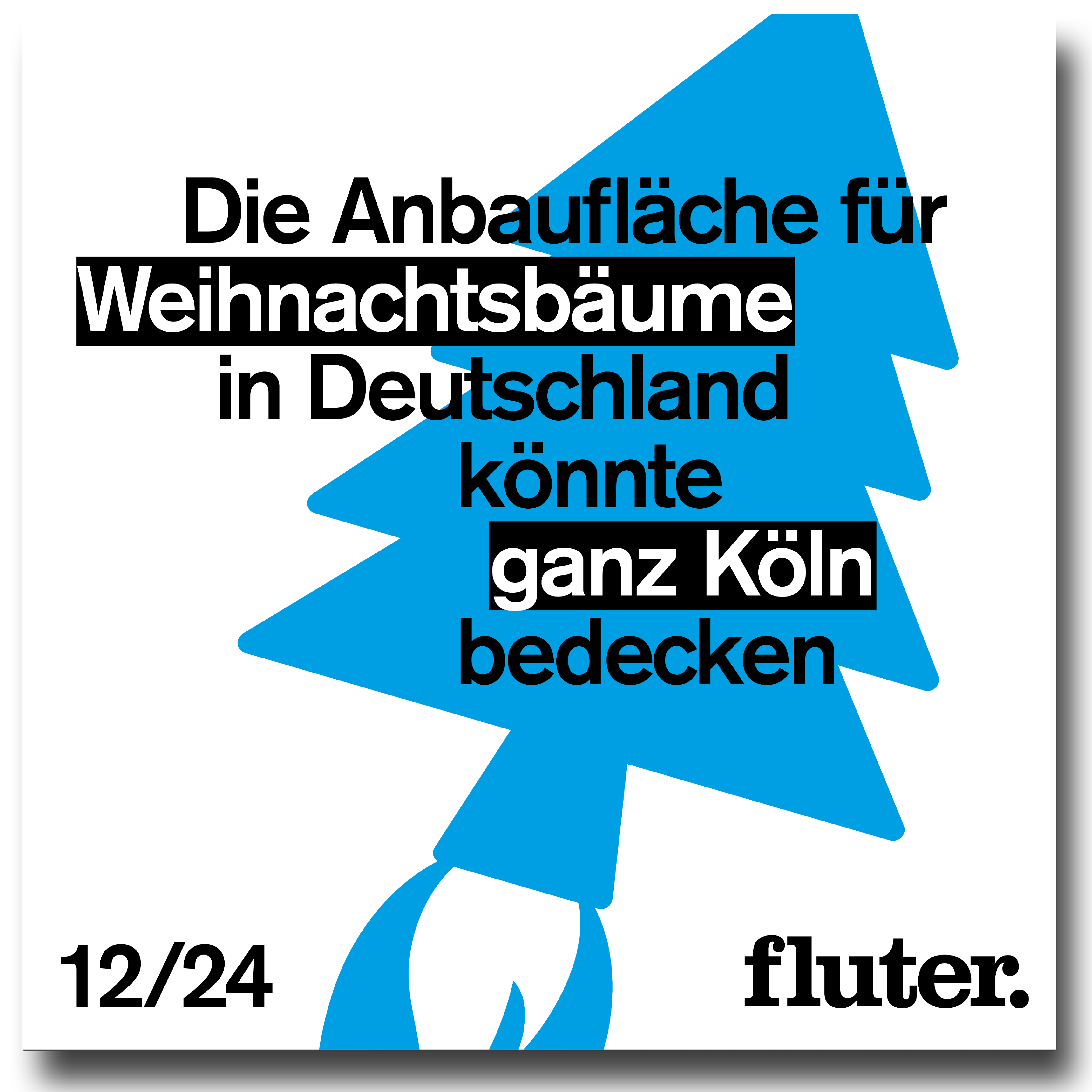 Alternative Weihnachtsfakten im fluter Adventskalender