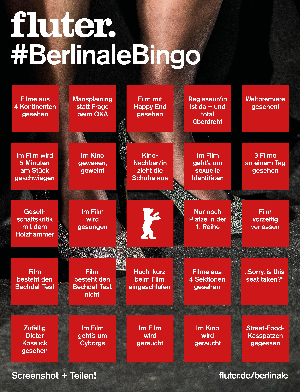 Berlinale Bingo
