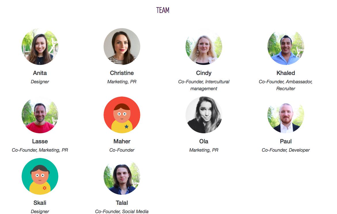 Team der Webseite Let's Integrate