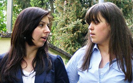 Eldisa und ihre Schwester Ermana (Foto: privat)