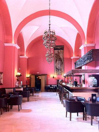 Hotelbar im ehemaligen Kloster San Marcos (Foto: privat)
