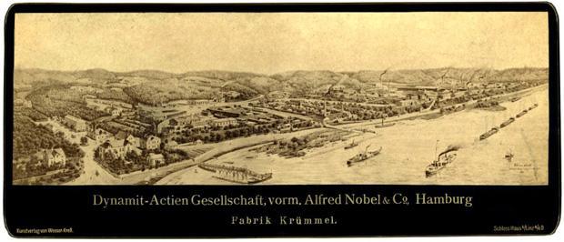 Dünn besiedelt, aber nah an Hamburg – Geesthacht erschien 1865 als ideale Lage für eine Dynamitfabrik  (Foto: picture-alliance/CHROMORANGE/Christian Ohde)