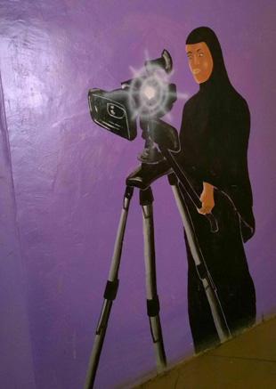 Film ab: Selber einen Film zu drehen, ist für viele der Mitwirkenden bei Eastleighwood das Ziel (Foto: Neil Carrie)
