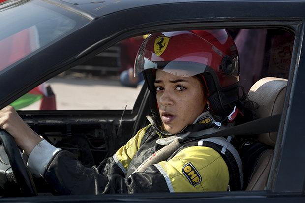 Sie ist schneller als du. Wetten? Noor Daoud (Foto: Avi Goldstein)