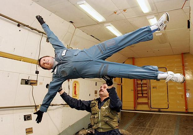 Auch Laien können im Sternenstädtchen ihre Weltraumtauglichkeit testen