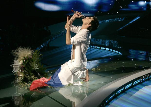 Nach vielen Enttäuschungen gewann Russland 2008 mit Dima Bilan (Foto: Uli Deck/dpa)