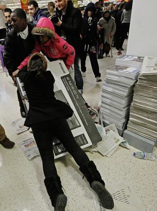 Man sollte in diesen turbulenten Zeiten nicht stur an alten Modellen festhalten, finden viele Studenten (Foto: LUKE MACGREGOR/Reuters/Corbis)
