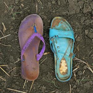 Zaida John aus Gabanit lief 30 Tage. Sie ist eine Frau in ihren Zwanzigern