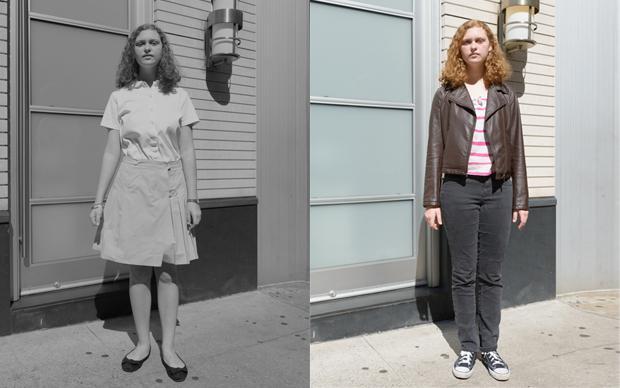 Graue Masse: Wenn alle Schüler Schuluniformen tragen müssten, würde ein Stück Vielfalt verloren gehen, findet Louisa Zimmer (Corinna von der Groeben)