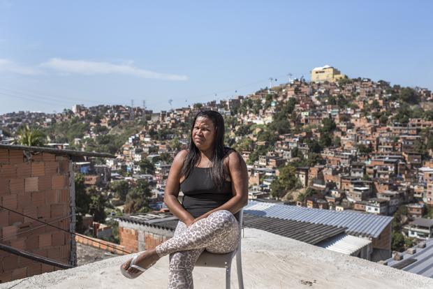Angst war für Renata alltäglich, bis sie sich entschied zu kämpfen (Foto: André Vieira/Agentur Focus)