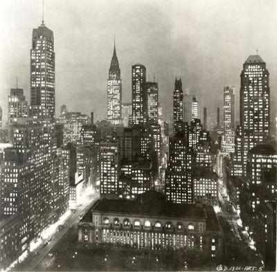 Gothams Vorbild: Die Skyline New Yorks in den 1930er-Jahren (Foto: JT Vintage)