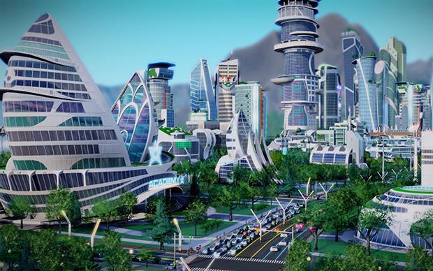 Schöne neue Häuserwelt: Sim City, hier die Variante von 2013. Unser Autor hat den populäreren Vorgänger probegespielt (Screenshot: Electronic Arts)