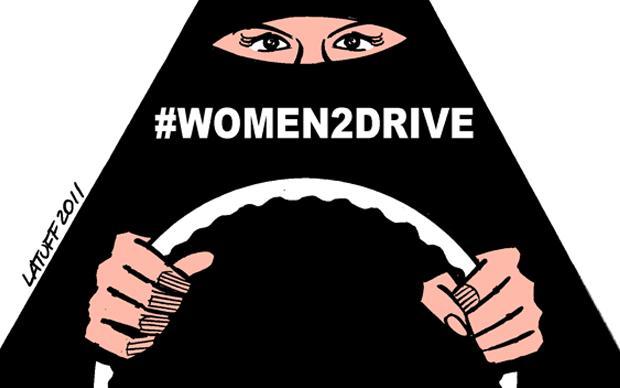 """Die Initiative """"Women2Drive"""" kämpft in Saudi-Arabien für das Recht von Frauen, Auto fahren zu dürfen. Die Aktivistinnen filmen sich dabei, wie sie durch Städte fahren und teilen die Bilder im Internet. Sie erreichen damit ein riesiges Publikum"""