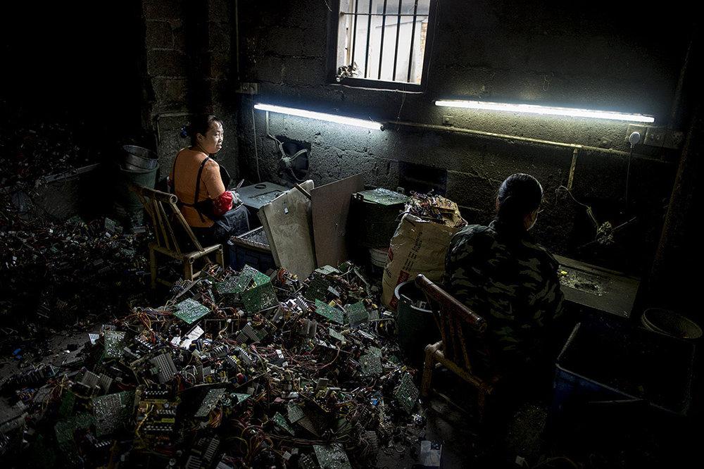 Elektroschrott China