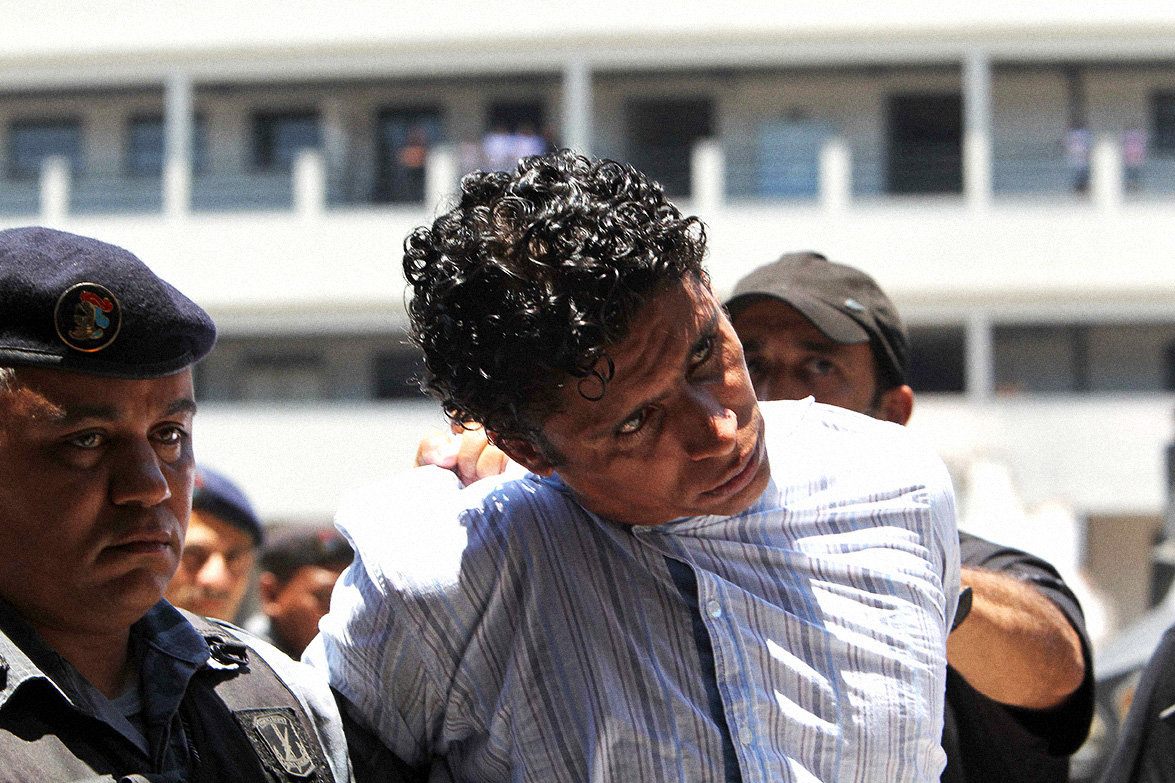 Antonio Bonfim Lopes wird verhaftet  (Foto: Marcelo Sayao / dpa)