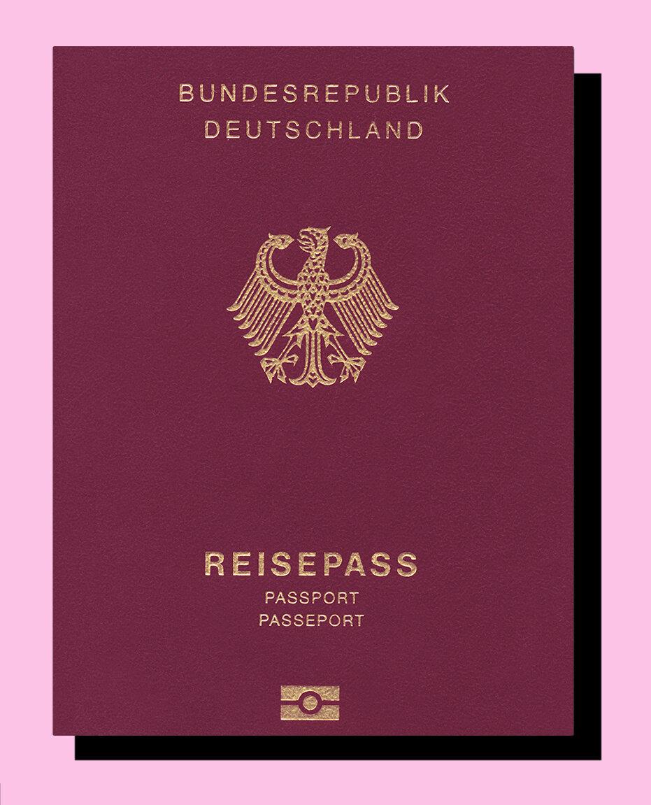Deutschland Pass