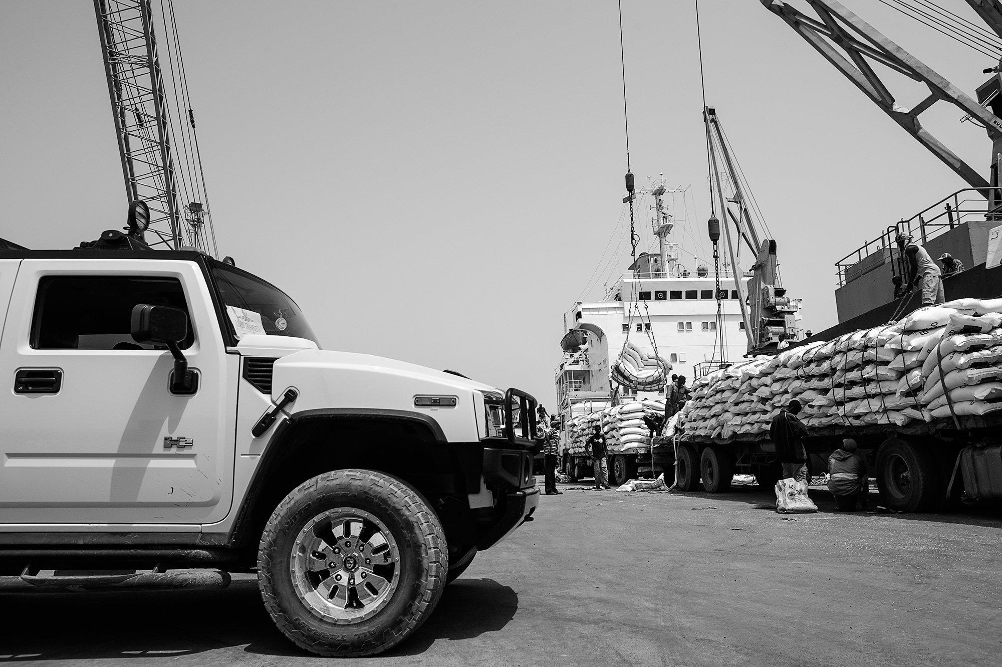 Drogenlieferung im Hafen von Guinea-Bissau