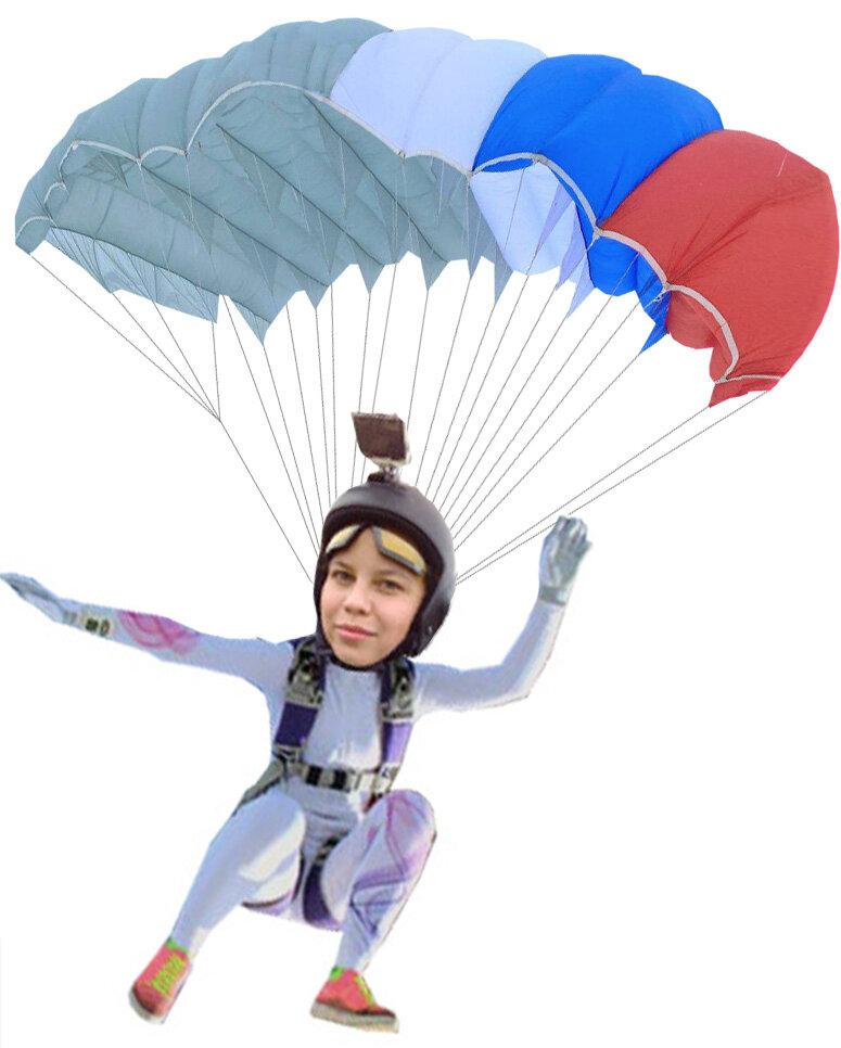 Russland, Berufe, Frauen, Fallschirmspringerin