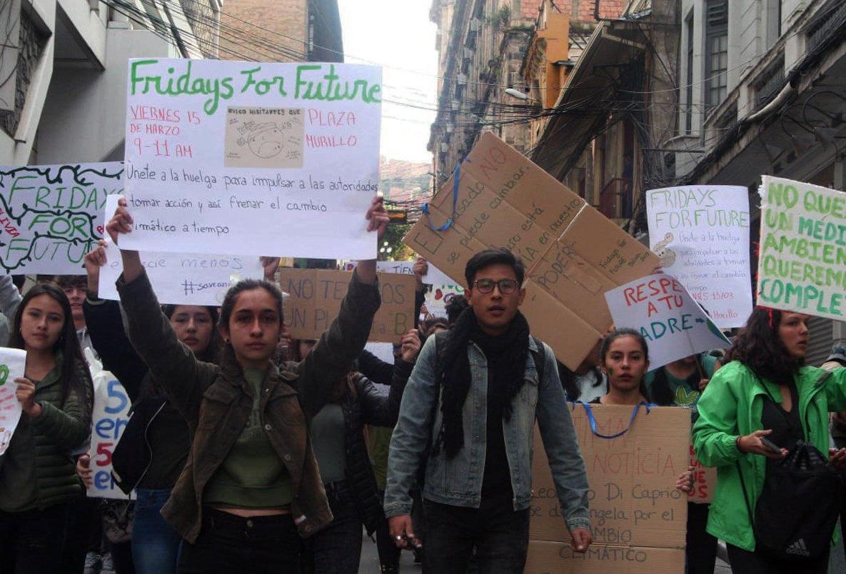 Fridays For Future in Bolivien  (Foto: Nina Py Brozovich)