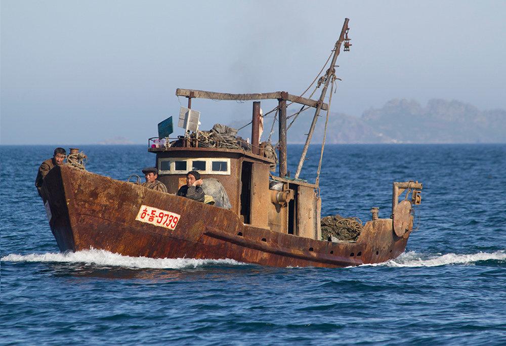 Rostiges Fischerboot (Foto: Raymond K. Cuningham Jr. 2013)