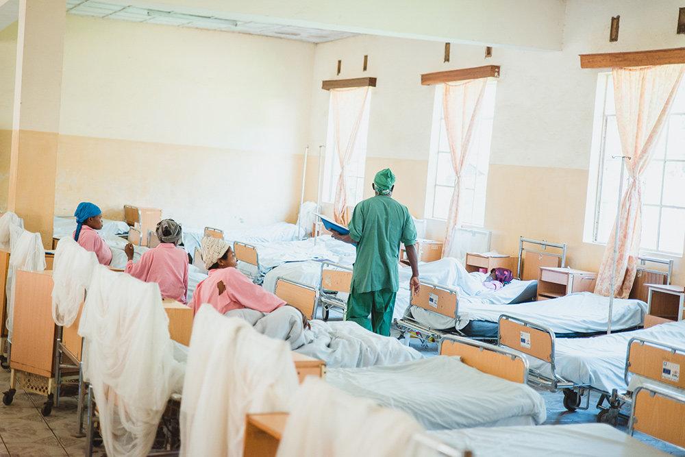 Panzi-Klinik in Bukavu