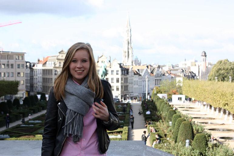 Freya van Ellen studiert Crisis and Security Management