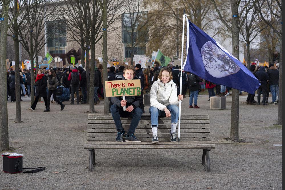 Kolja Schnellen, 15 und Marie, 14, Berlin