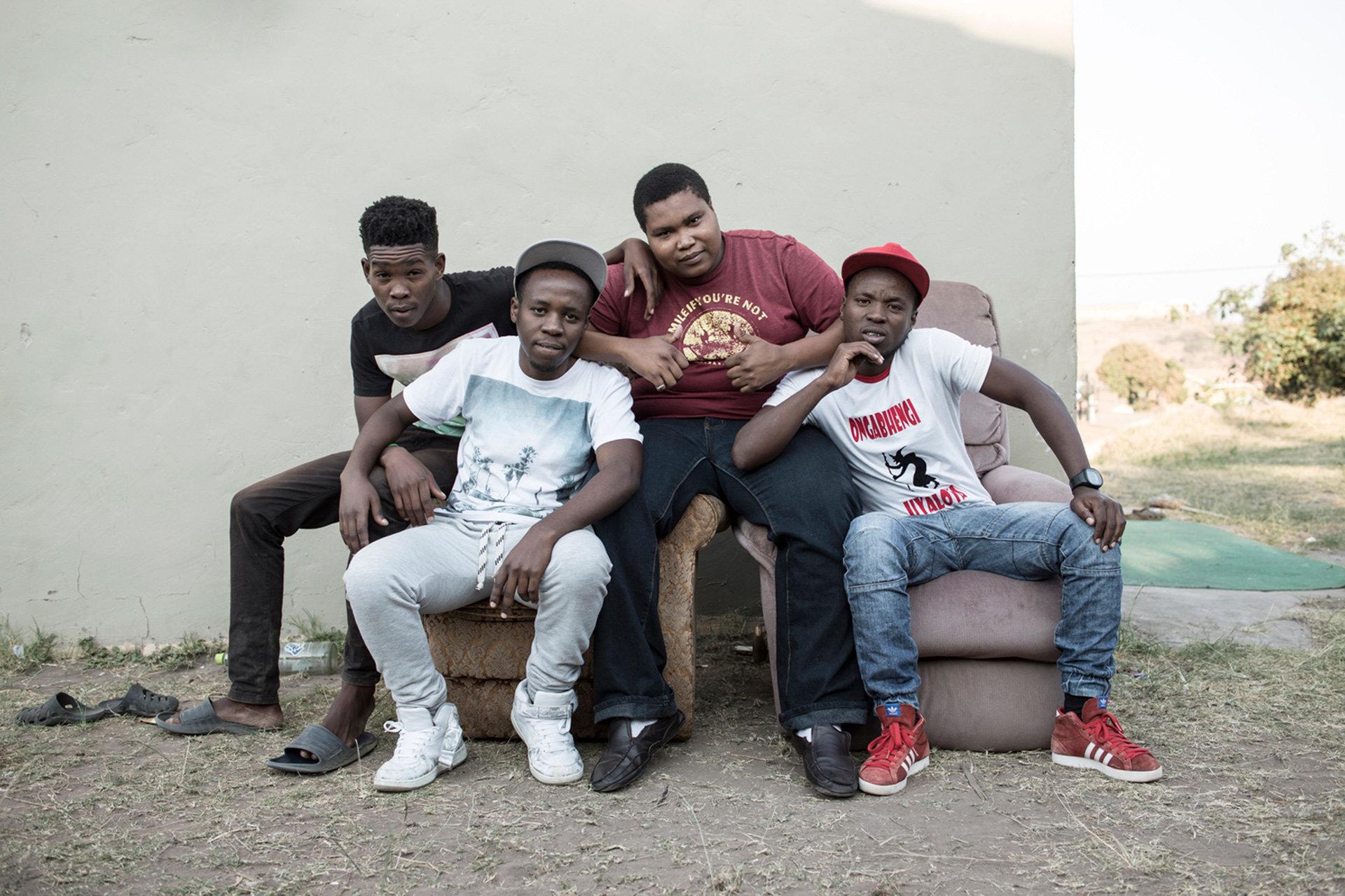 Ben 10 - Gqom Music Producer Crew (Foto: Chris Saunders)