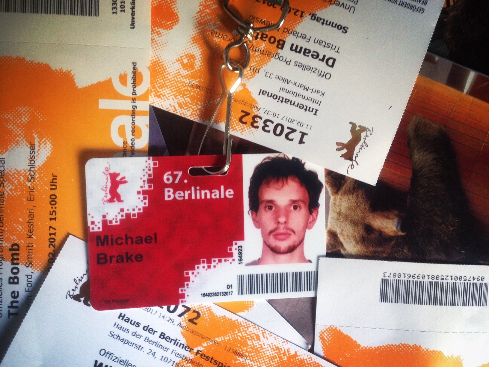 Berlinale-Blogger Michael Brake