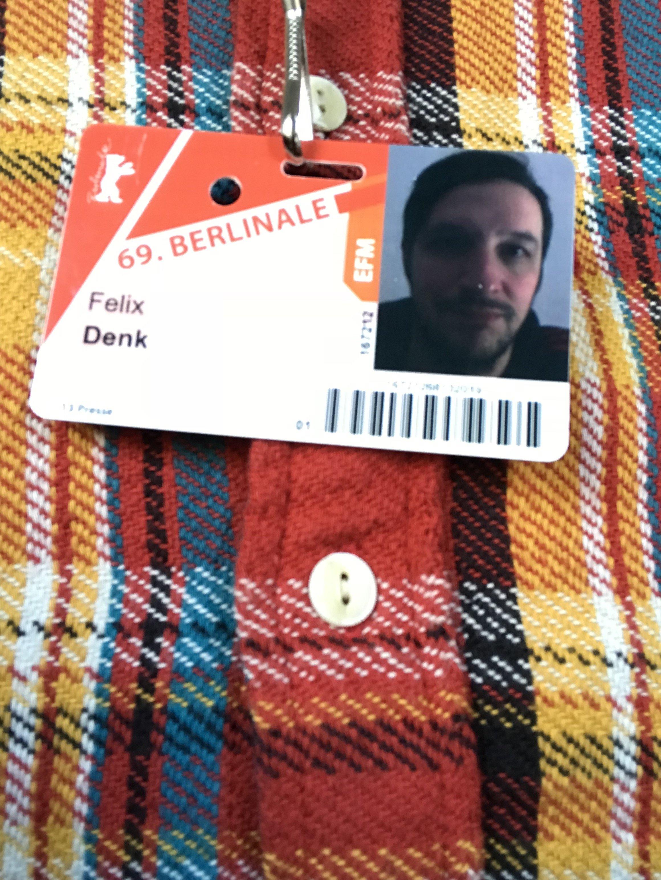 Berlinale Blogger Felix Denk
