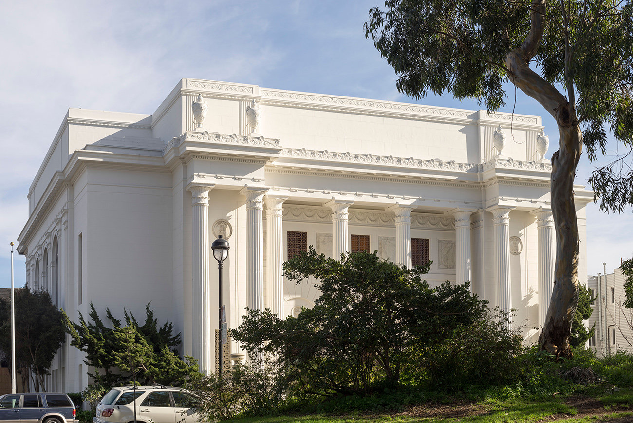 Internet Archive in San Francisco (Foto: Phillip Bond / Alamy Stock Photo)