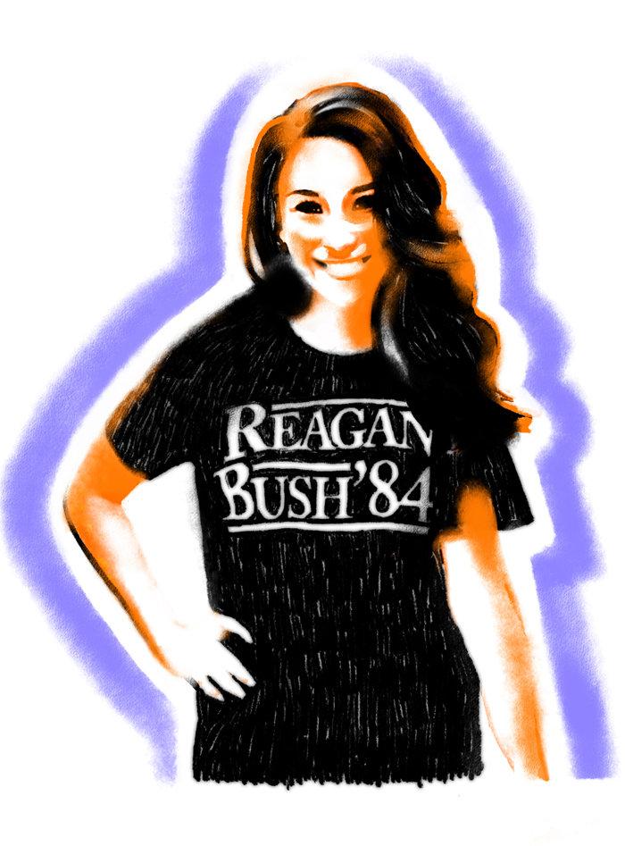 Reagan Bush 84