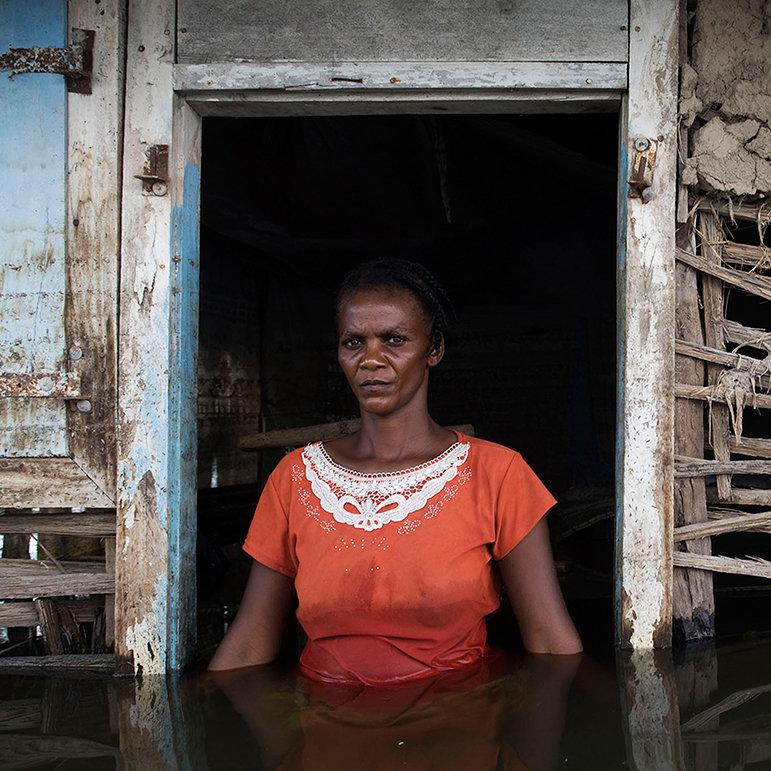 Adlene Pierre, Savanne Desolé, Gonaïves, Haiti, September 2008