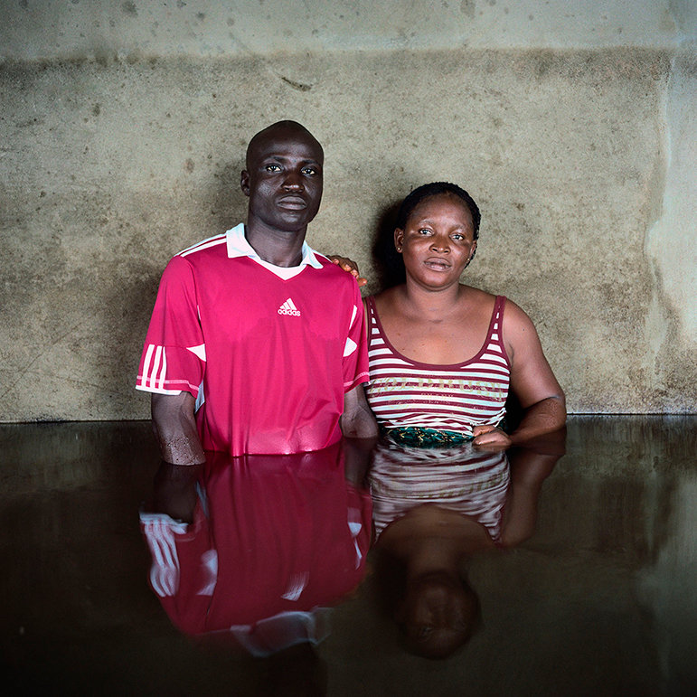 Kingsley Isiakpere und Edna Silas, Igbogene, Bayelsa State, Nigeria, November 2012