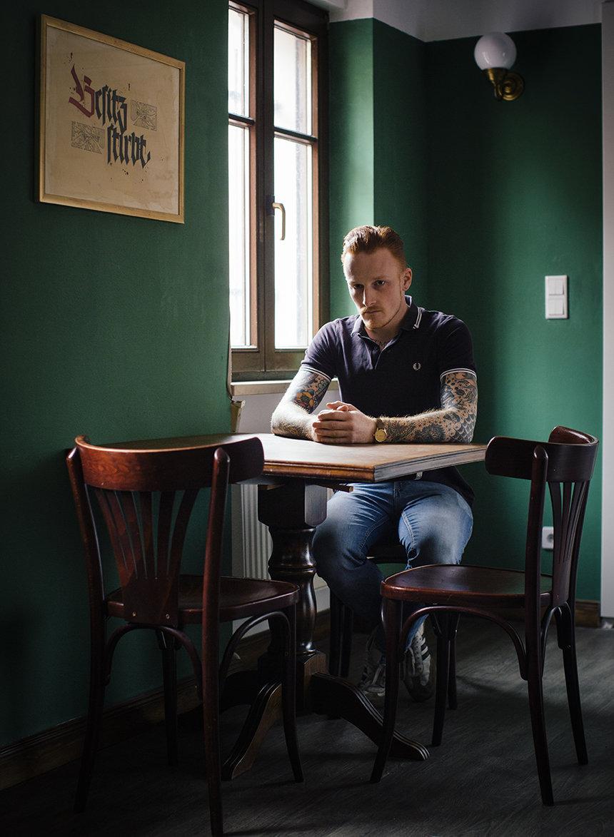 Mario Müller, Kopf der Identitäten Bewegung in Halle