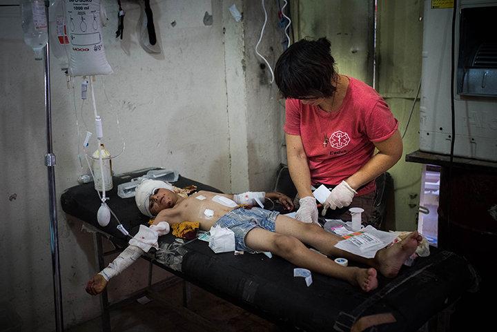 Mobil Hospital Mossul