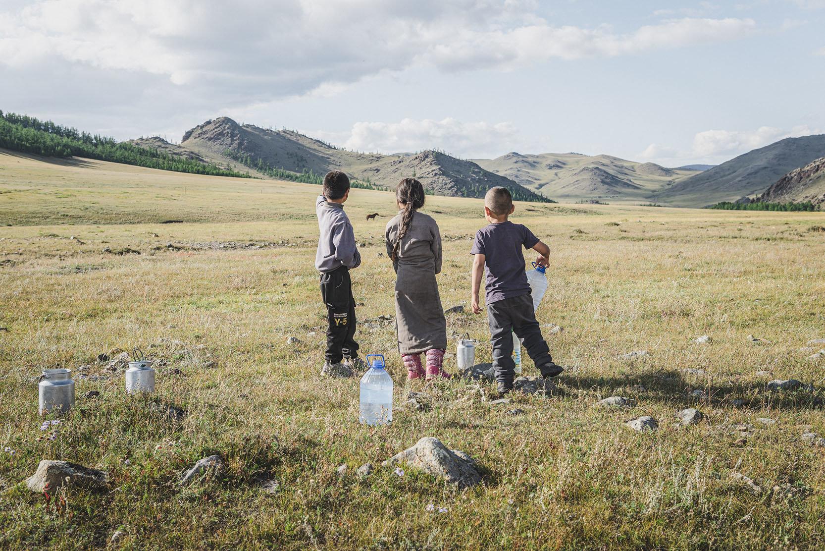 Mongolei, Ger districts, Klimawandel, Ulan Bator, Gobi