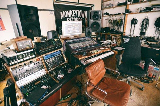 Das Studio der Band Moderat in Berlin (Foto: getty images)