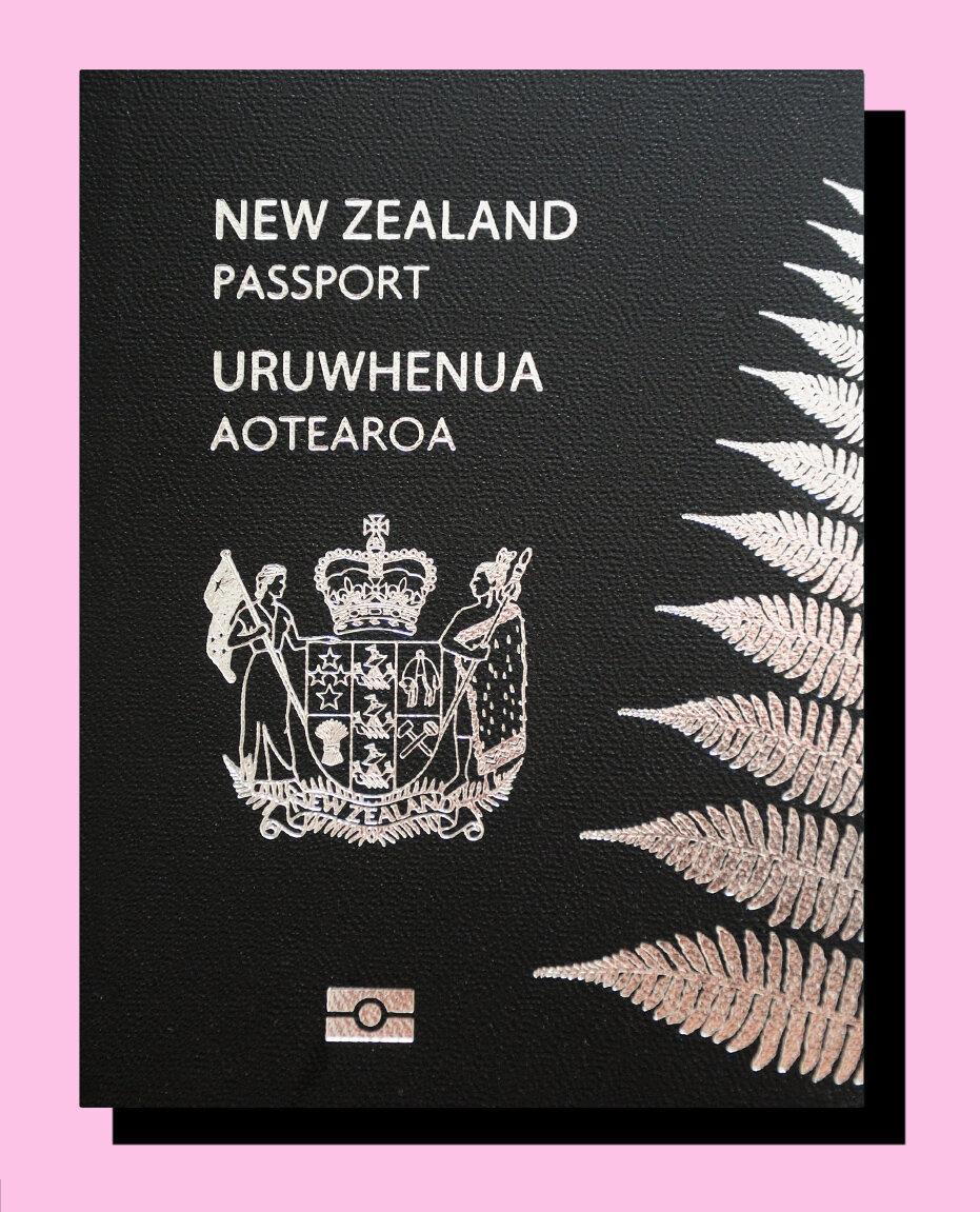 Neuseeland Pass