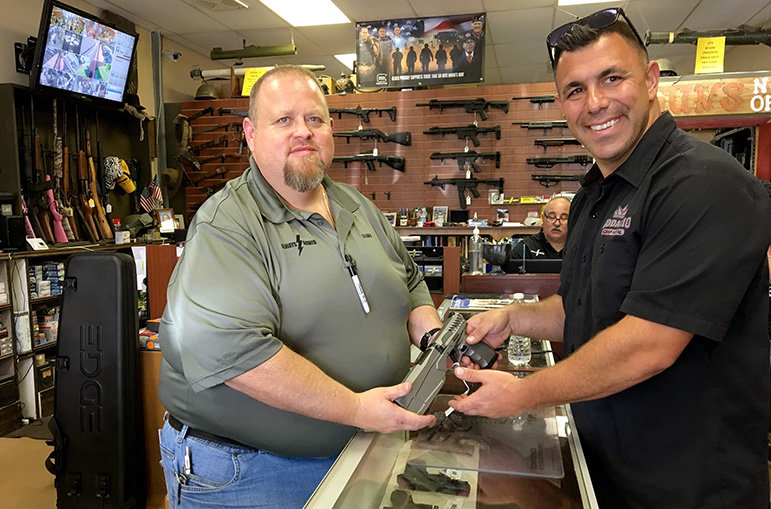 Waffenverkäufer in den USA