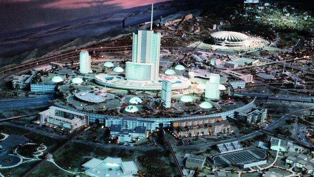 Entwurf eine Modell-Stadt von Walt Disney (Bild: Walt Disney World)