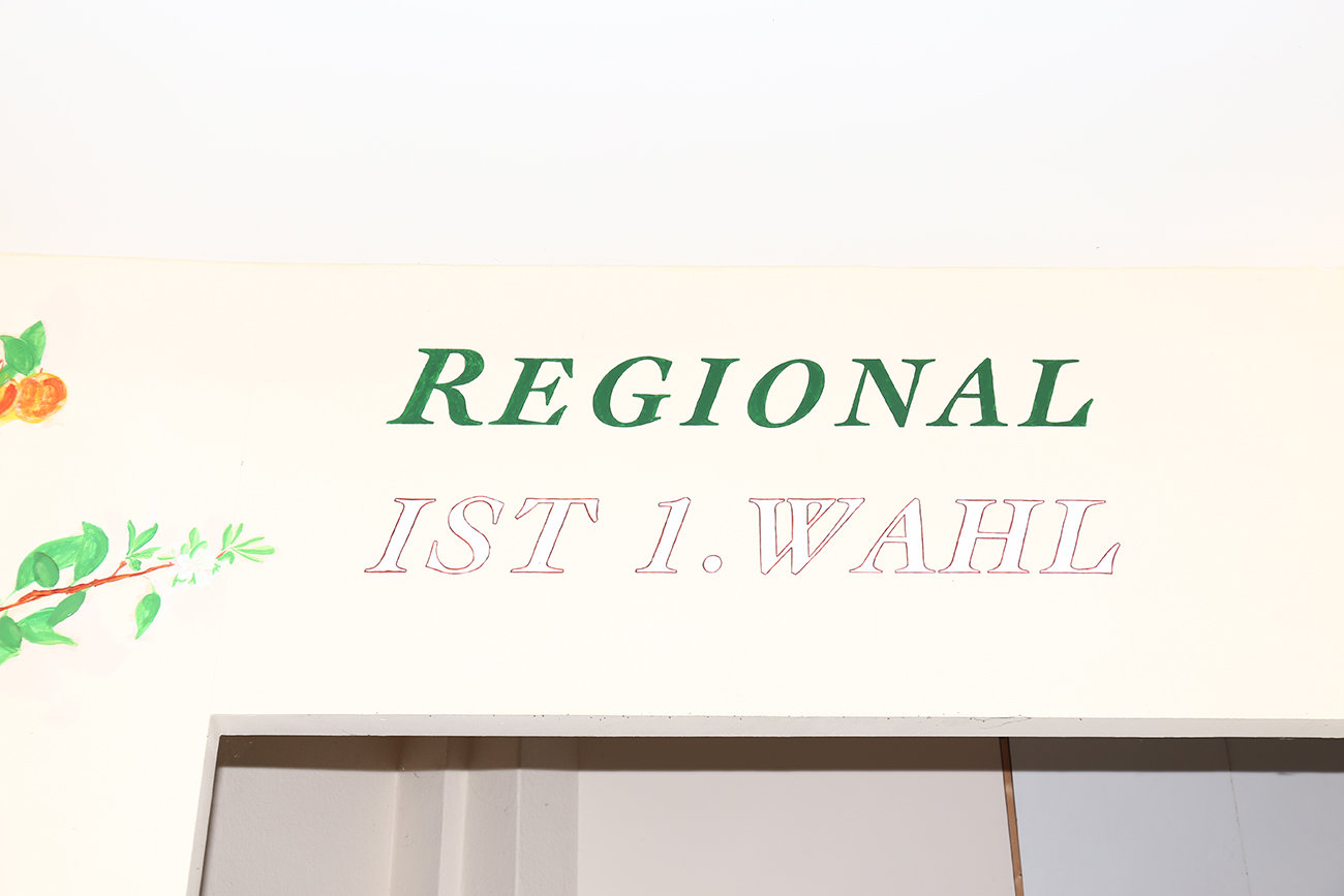 Regional ist 1.Wahl