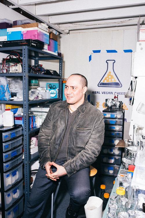 Anthony Di Franco in den Counter Culture Labs (Foto: Peter McCollough)