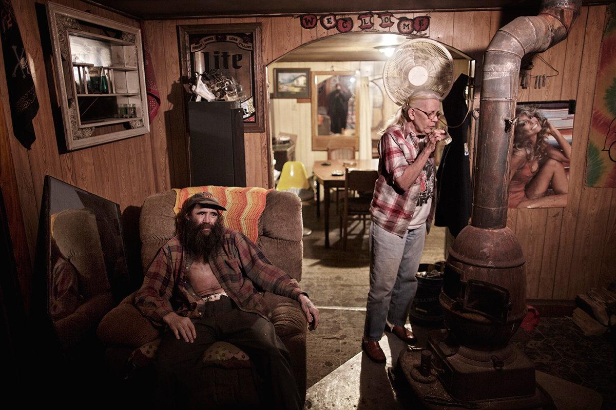 Zwei Männer im Rust Belt (Foto: Espen Rasmussen)