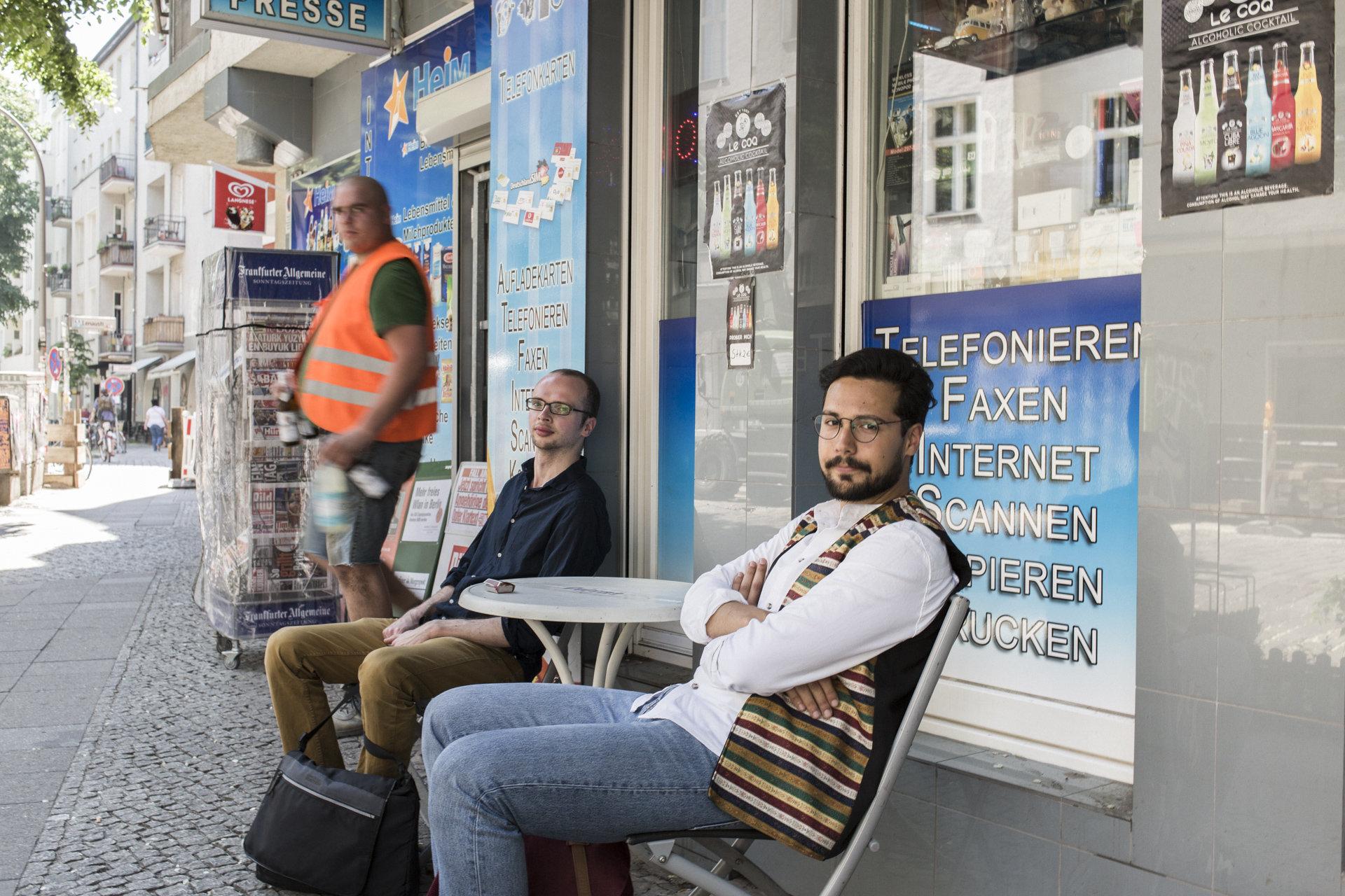 Armin Langer und Ozan Keskinkilic