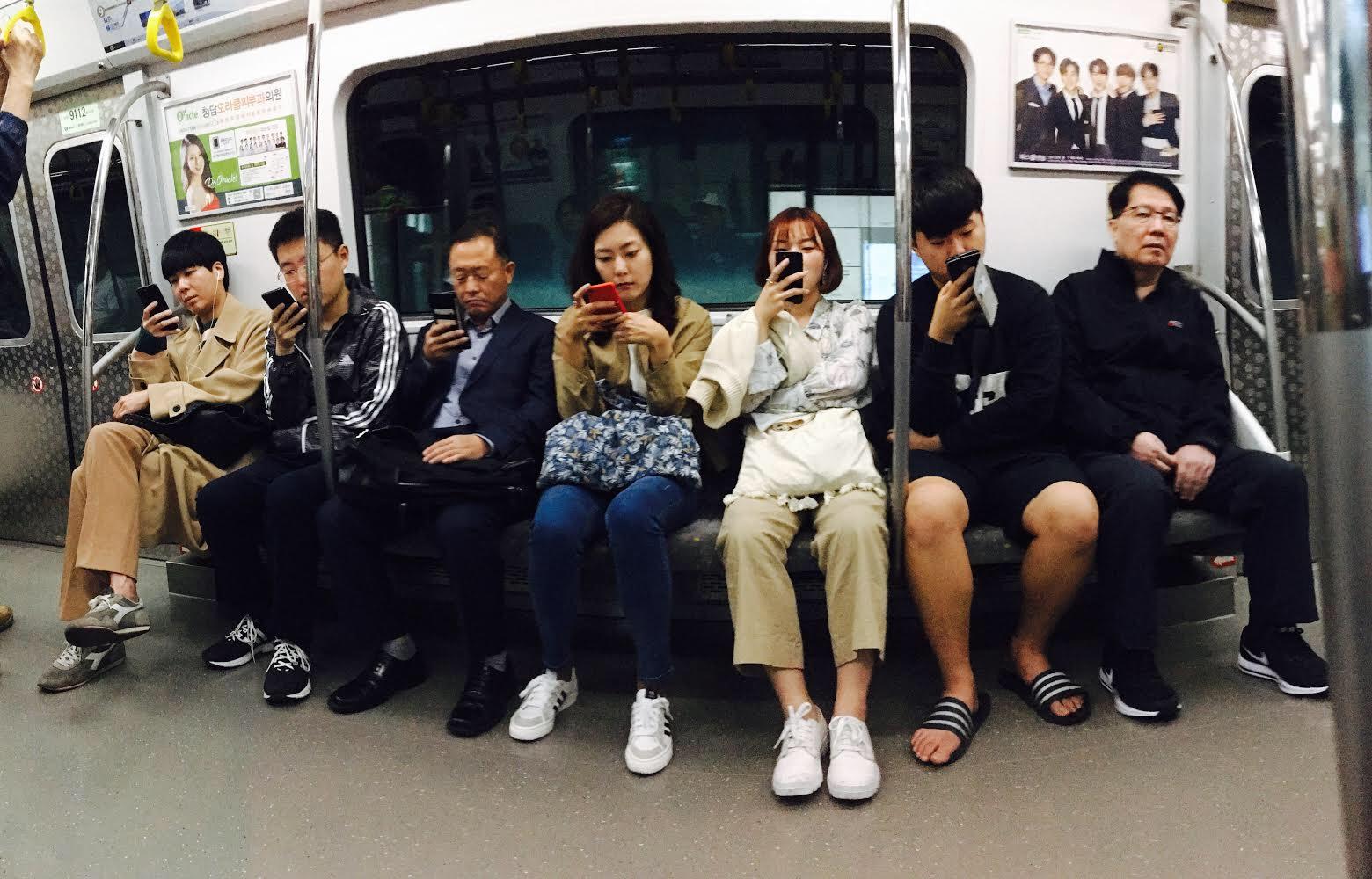Ubahn in Seoul (Foto: Nikita Teryoshin)
