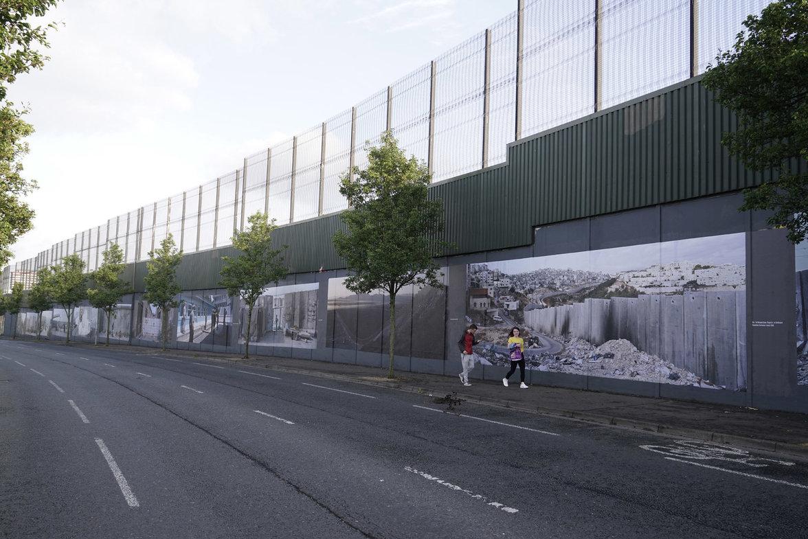 Wall on Wall in Belfast (Foto: Kai Wiedenhöfer)